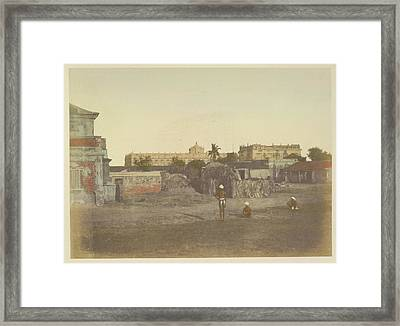 Palace Of The Nawaub Framed Print by British Library