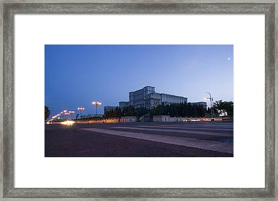 Palace Of The Parliament  Framed Print by Ioan Panaite