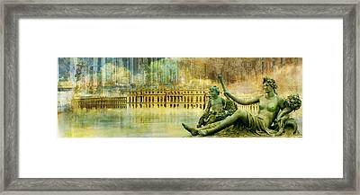 Palace Of Versailles Framed Print by Catf