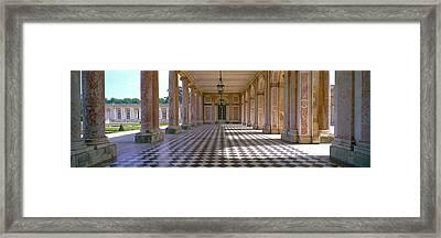 Palace Of Versailles Palais De Framed Print