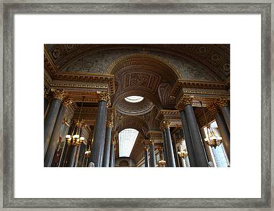 Palace Of Versailles - Paris France - 011362 Framed Print by DC Photographer