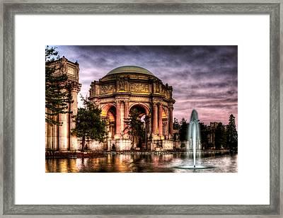 Palace Redone Framed Print