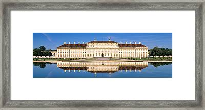 Palace Reflecting In Water, New Palace Framed Print by Panoramic Images
