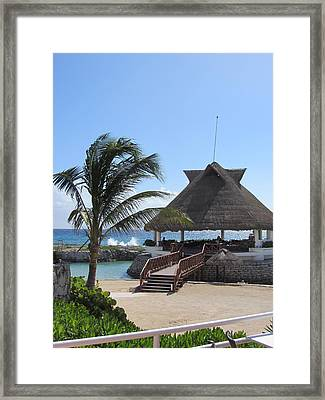 Palace Resort Framed Print