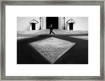 Palace Symmetry Framed Print