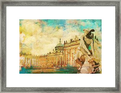 Palaces And Parks Of Potsdam And Berlin Framed Print
