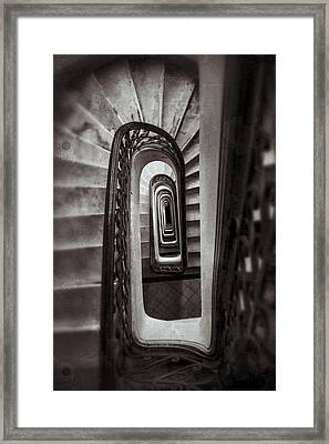 Palacio Barolo Staircase Buenos Aires Framed Print by For Ninety One Days