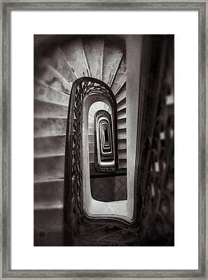 Palacio Barolo Staircase Buenos Aires Framed Print