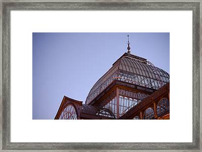 Palacio De Cristal Framed Print