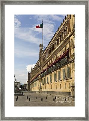 Palacio Nacional, Mexico Framed Print