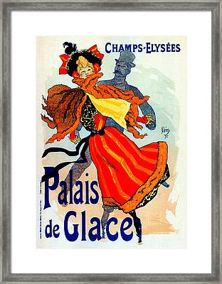 Palais De Glace Framed Print by Charlie Ross