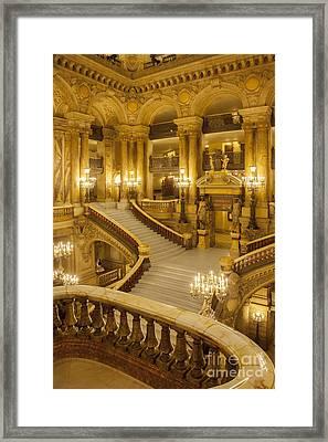Palais Garnier Interior Framed Print by Brian Jannsen