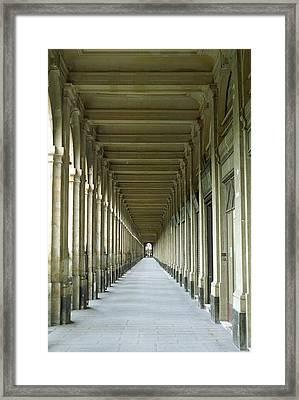 Palais Royale Framed Print