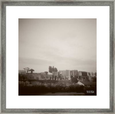 Palatine Hill And Forum Framed Print by Beverly Brown