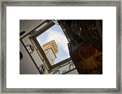 Palazzo Vecchio Framed Print by Pablo Lopez