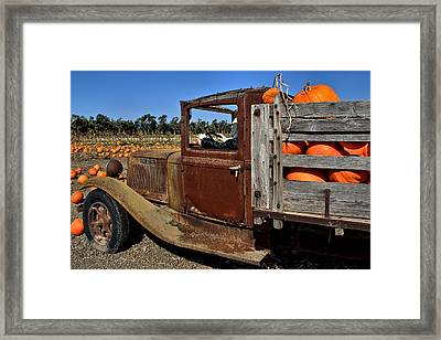 Framed Print featuring the photograph Pale Rider by Michael Gordon