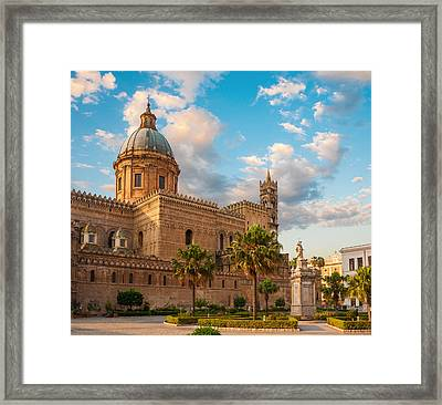 Palermo Cathedral Framed Print