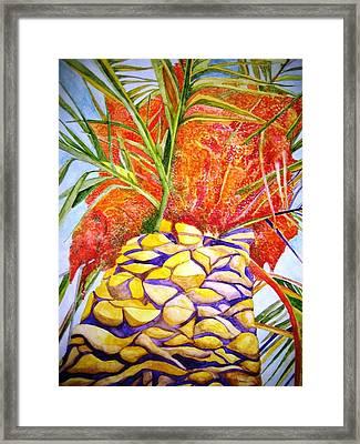 Palermo Palm Framed Print