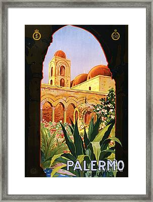 Palermo Framed Print by Pg Reproductions
