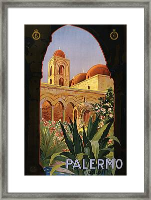 Palermo Sicily Italy Framed Print by Georgia Fowler