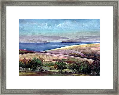 Palestine View Framed Print