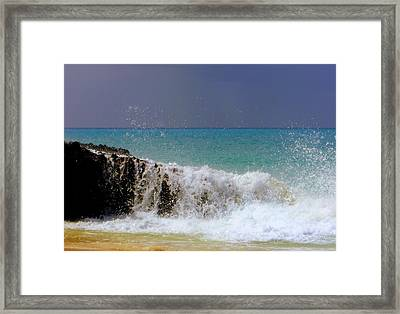 Palette Of God Framed Print by Karen Wiles