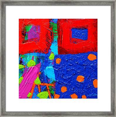 Palimpsest Viii Framed Print