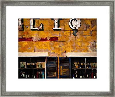 Palio Framed Print