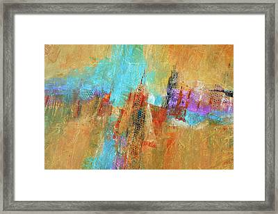 Palisades Framed Print by Filomena Booth