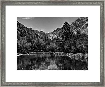 Palisades Glacier Framed Print