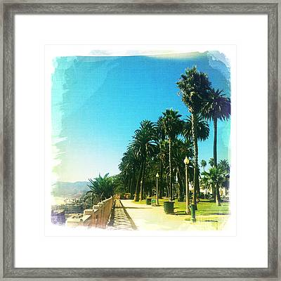 Palisades Park Framed Print