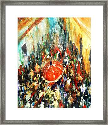 Palkhi Framed Print