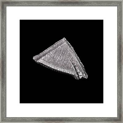 Palladium Framed Print by Science Photo Library