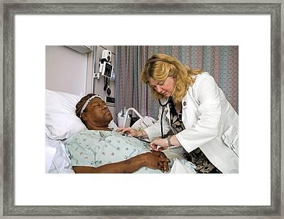 Palliative Hospital Care Framed Print by Jim West