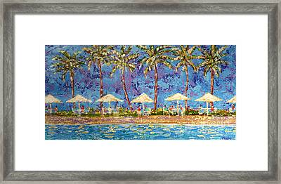 Palm Beach Life Framed Print