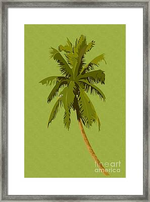 Palm Breeze Framed Print by Tina M Wenger