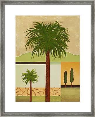 Palm Desert Framed Print by Carol Sabo