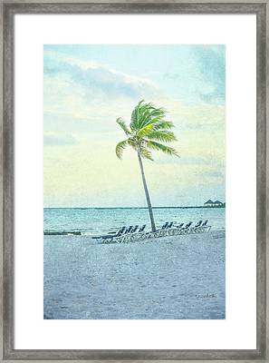 Palm II Framed Print by Ramona Murdock