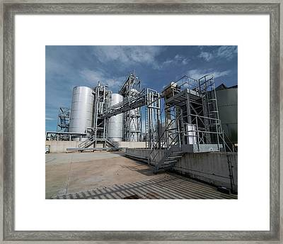 Palm Oil Refinery Framed Print by Robert Brook