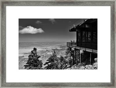 Palm Springs Aerial Tramway View Framed Print by David Lobos