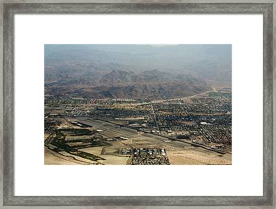 Palm Springs International Airport Framed Print by John Daly