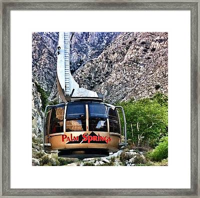 Palm Springs Tram 2 Framed Print