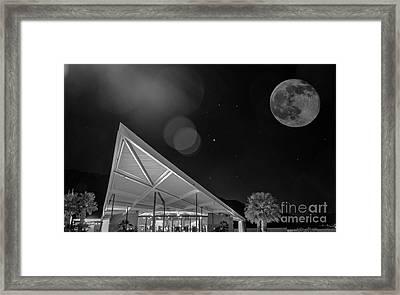 Palm Springs Visitor Center Framed Print