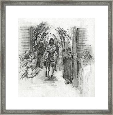 Palm Sunday Framed Print by Walter Lynn Mosley