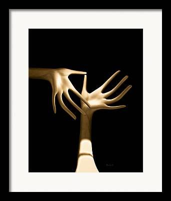 Index Finger Framed Prints