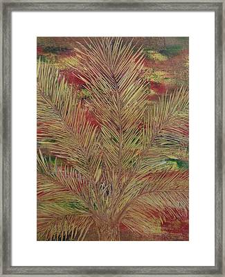 Palme Framed Print by Nico Bielow