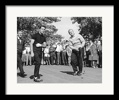 Famous Golfers Framed Prints