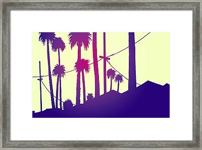 Palms 2 Framed Print