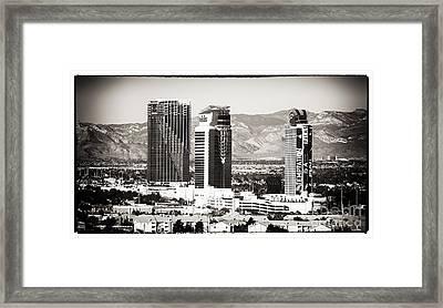 Palms Las Vegas Framed Print