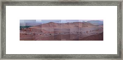 Palmyra Syria Valley Of The Tombs Framed Print